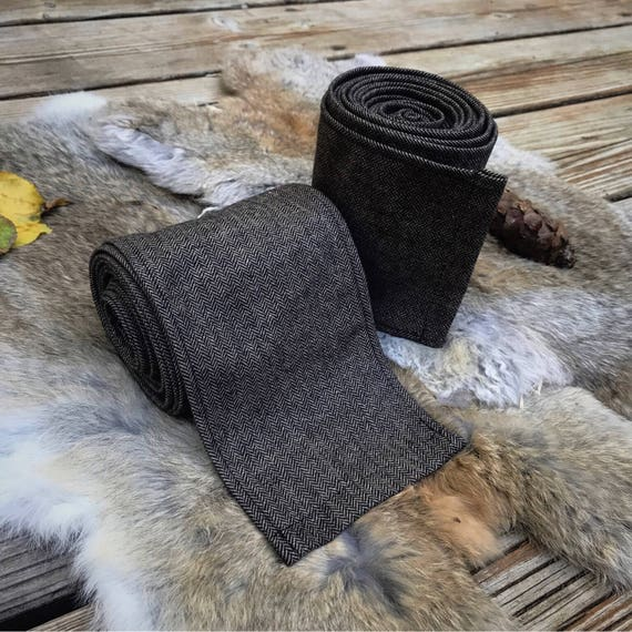 Viking Harvest Brown Wool Wraps Winingas Vindingr Wickelbander vaf-spjôrr, Garb, Norse, SCA LARP, HEMA, Anglo Saxon, Armor, Reenactment