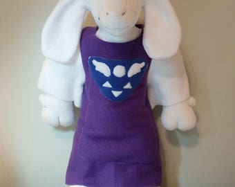 Toriel Plush Sewing Pattern (Inspired by Undertale)