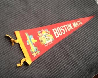 VINTAGE PENNANT BOSTON Mass
