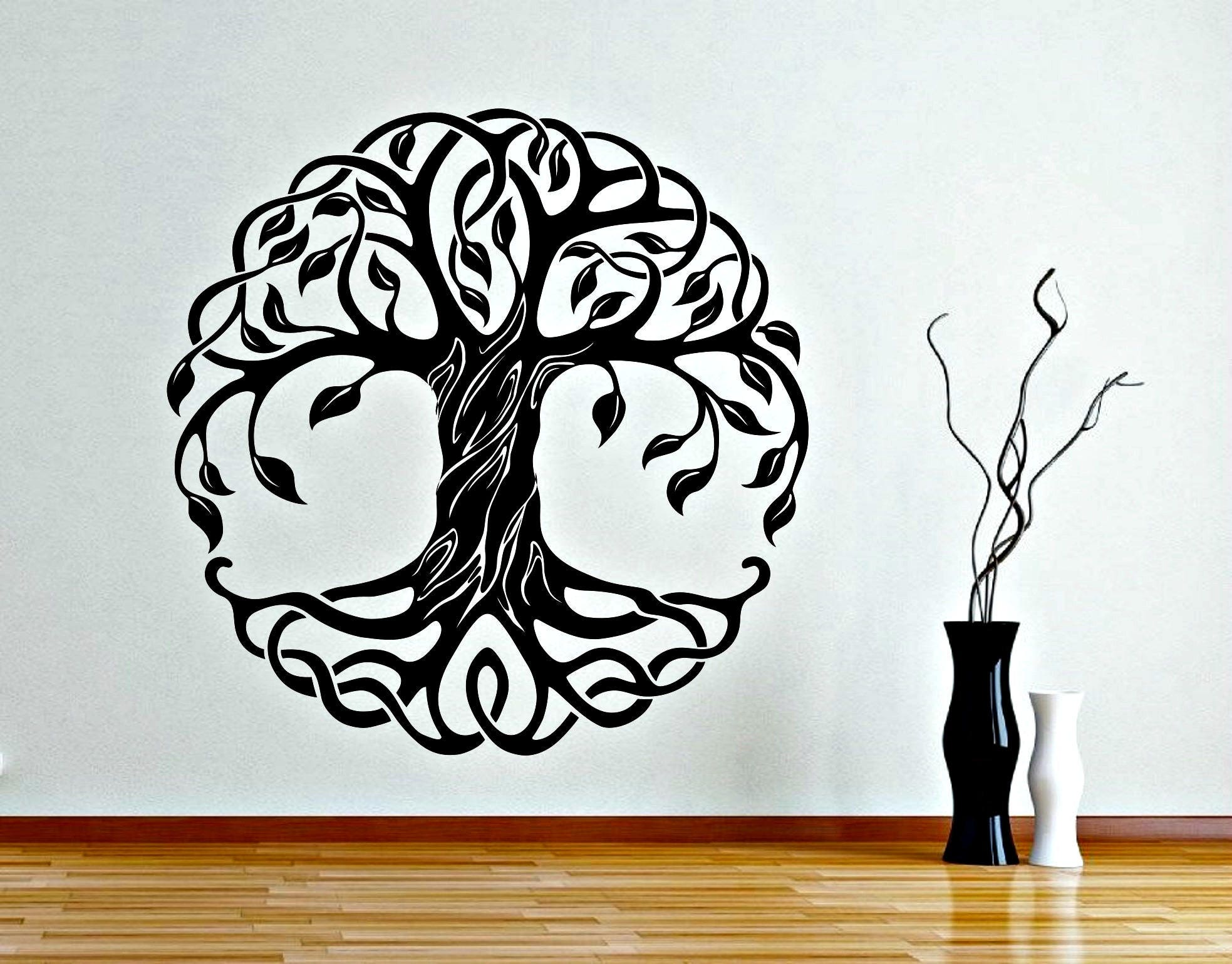 Merveilleux Description. This Stunning Mandala Tree Of Life Wall Decal ...