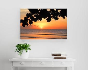 Island Sunsets ~ Fiji ~  Photography Print, Fine Art Print or Canvas (Unframed) Beach Photography