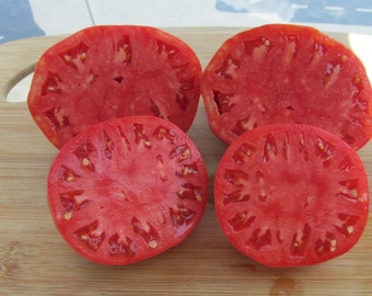 75+ Pink Oxheart Tomato Seeds- Heirloom Variety