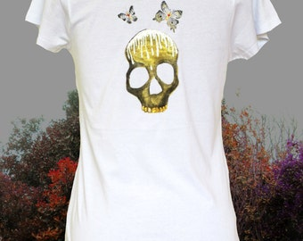 Sale Hand painted t-shirt SIZE: Extra small