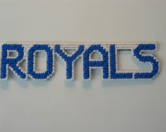 Royals in Handmade, Needlepoint Magnets