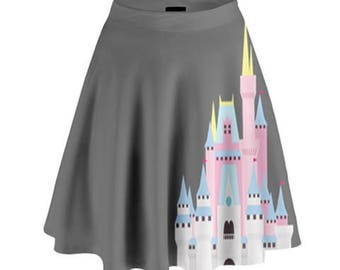 Castle Skirt // Run Disney // Disney Skirt // Disneyland // Walt Disney World // Cinderella Castle // Sleeping Beauty Castle