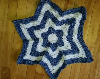 Star blanket/ Star baby blanket/ security blanket/ lovey blanket/ Star security blanket