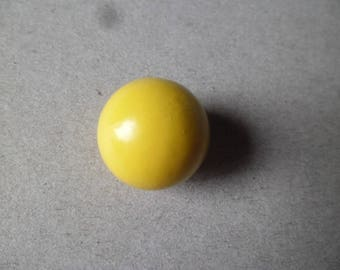 x 1 musical pregnancy 16 mm yellow ball
