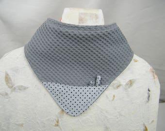 Bandana baby reversible Choker, Choker to protect the bavouilles baby clothes, birth gift