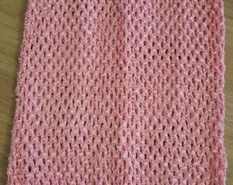 STRETCHY 2-6 years HALTER Rose crochet for creating girl tutu dress