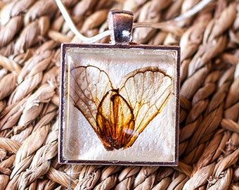 CICADA WINGS PENDANT