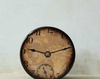 Time Was Wood Clock Box