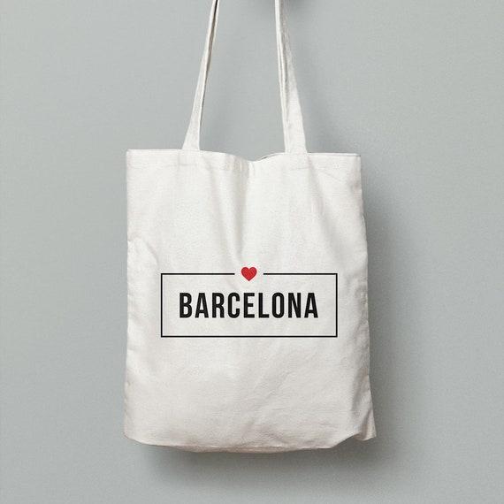 "Spanish Bag ""<3 Barcelona"" [Customize the text]"