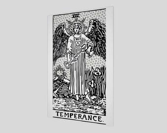 """12""""x18"""" - Modern Tarot Design - 14 Temperance"""
