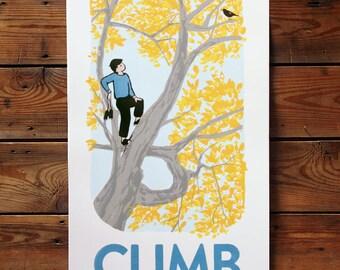 Climb into Fall - The Berkshires poster