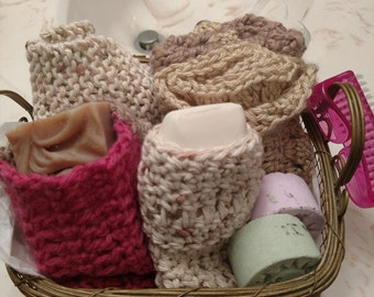Crochet Bath/Shower Set