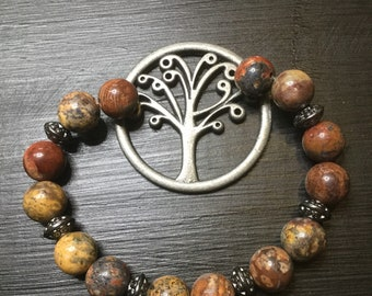 H; Tree bracelet by Hippy Feet Barefoot Sandals