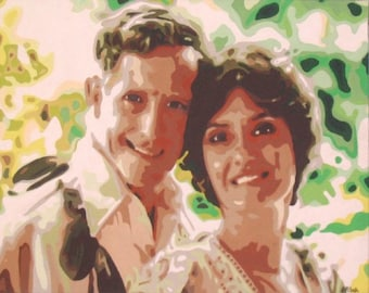 Custom Portrait Painting (from photograph)