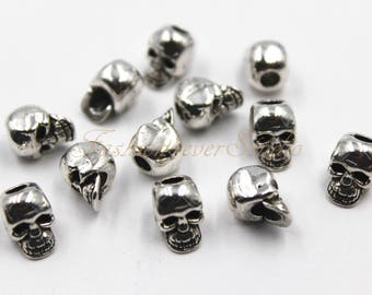 10pcs Oxidized Silver Tone Base Metal Spacer Textured Heart 11x10mm 26528Y-T-233