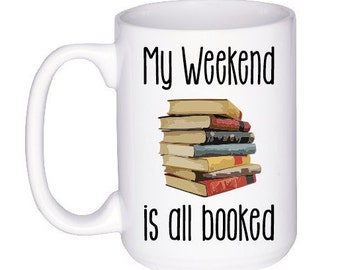 Book Lover Gift - Mug for Book Lovers - Librarian Gift - Gifts Under 20 - Book Nerd - Reading Gift - Funny Coffee Mug Gift Idea