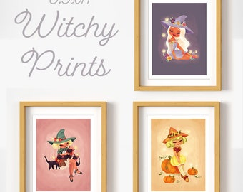 8.5x11 Witchy Print- Choose Print Choice