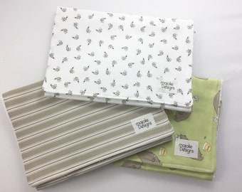 The Bees and Honey Bears Collection Burpcloths