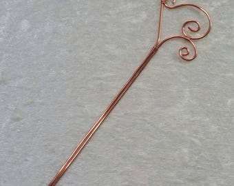 """Collection """"Copper"""" hair - stick and twists"""