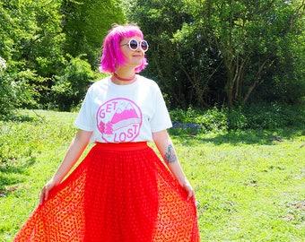 Get Lost T-shirt, Pink T-shirt, Mountains Tee, Twin Peaks Shirt, Adventure Tee, Hiking Tshirt, Hike Tee, Trail Tee, Ladies T-shirt, Explorer