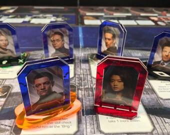 Battlestar Galactica Character Stands
