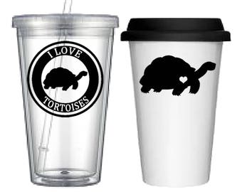 Cup:Tortoise(4 designs to choose from!)