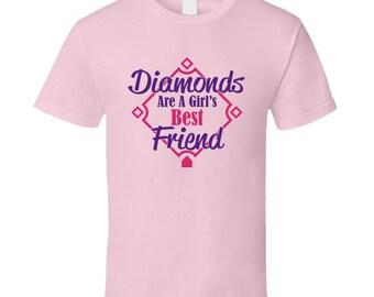 Diamonds Are A Girl's Best Friend T Shirt