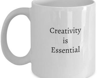 mugs for artists, artistic ceramic mug, gift idea for artist, artist gift ideas, artistic gift, gift for an artist, gifts for artists