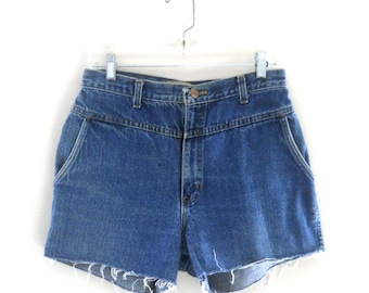 High Waisted Shorts Boho Shorts High Waste Shorts Frayed Shorts Faded Shorts High Wasted Shorts Highwaisted Shorts Cutoff Jean Shorts Denim
