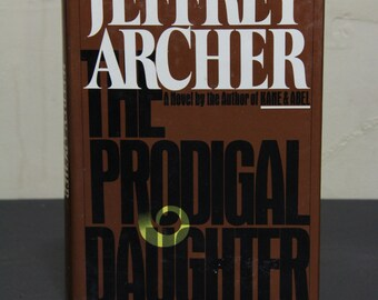 The Prodigal Daughter - Jeffrey Archer, Novel, Fiction, Vintage Novel