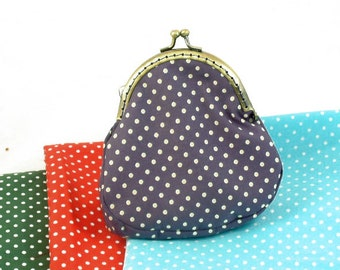 Make it yourself spotty clasp purse kit