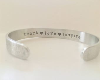 Teacher Gift,  Ready to Ship!  Preschool Teacher Gift, Daycare Teacher Gift, Gifts for Teachers, Nanny Gift,  Gift by TheSilverSwing,