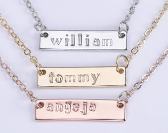 Lovers Gift,Custom Name Necklace Personalized Name Necklace,Personalized Necklace,Bridesmaid necklace,Wedding day gift-1044