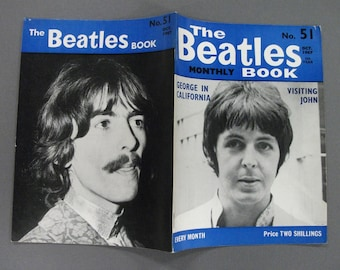 Original Ocotber    1967 The Beatles  Monthly Book #51