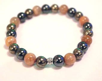 Anti-Fatigue Crystal Healing Gemstone Bracelet Amelie Hope Crystals Power Bead