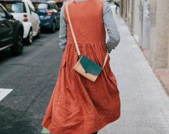 Crossbody Bag, Messenger Crossbody Bag, Crossbody Leather Bag, Shoulder Sling Bag, Shoulder Bag, Small Leather Bag, Crossbody Purse