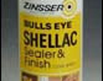 Clear Spray Shellac 12 Oz
