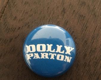Vintage Dolly Parton Button