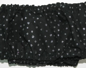 Grime Guard 11 x 11 Black with glitter dots
