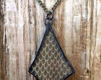 Real Snake Skin/Shed Necklace