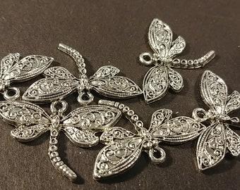 Large Dragonfly Pendant