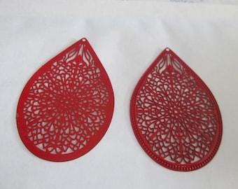 prints 2 drop red 49 x 32 mm
