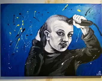 Britney Spears acrylic painting