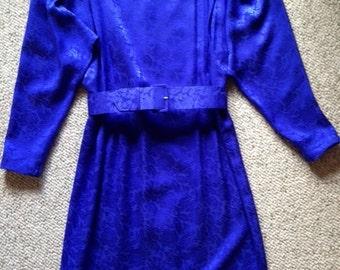 Liz Claiborne Blue Silk Dress - Size 4