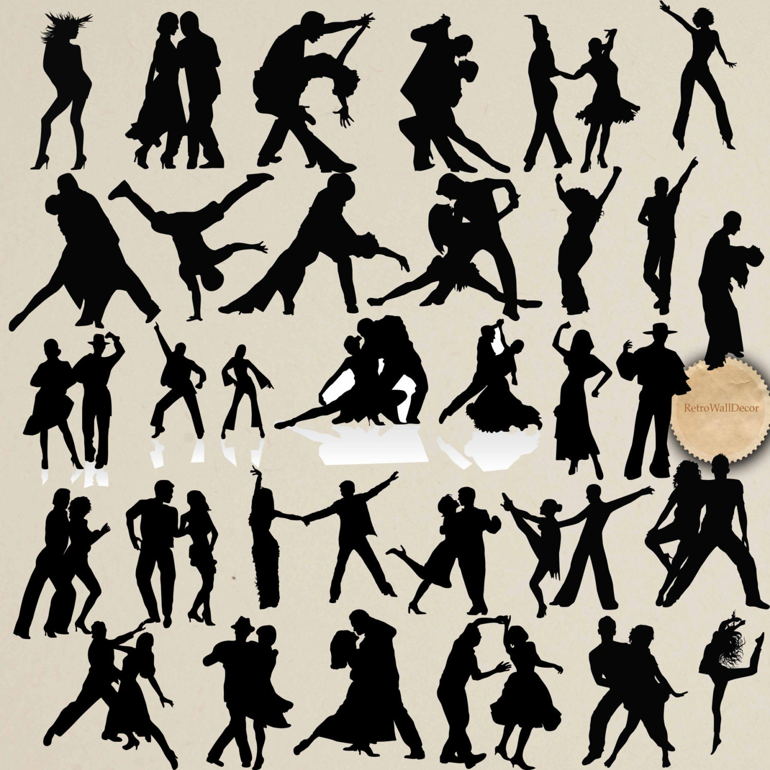 Dancing Silhouettes Dancing People Clip Art Couple Dance for Business People Silhouette Png  117dqh
