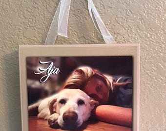 8x8 Custom Gallery Wrapped Photo Canvas