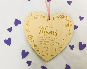 Mothers Day heart decoration